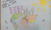 """выставка рисунков """"Мы за мир, против терроризма!"""""""